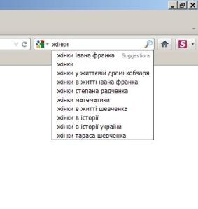 Видача Гугла жінки