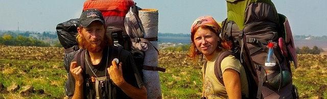 Андрій та Віталіна - мандрівники Україною