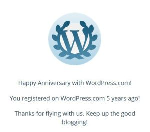 Wordpress5years